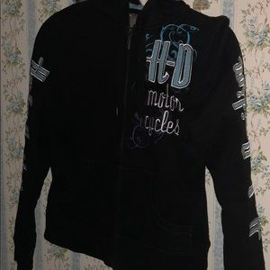 Harley-Davidson Jackets & Coats - Harley Davidson zip up sweater